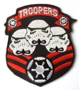 Star Wars Imperial Stormtroopers Embroidered Patch